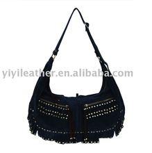 N343-Suede Trendy bags,High Quality Ladies Hobo Bags