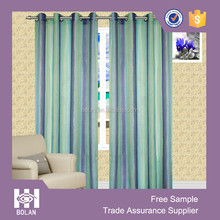Printing voile eyelet window curtain, curtain panels, curtain sheer