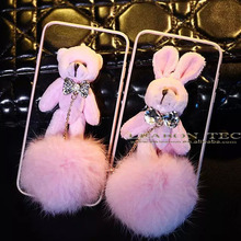 2016 hot sale Cute rabbit cell phone cases for Universal mobile phone