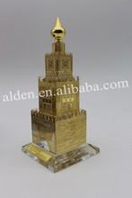 Handmade Unique Exquisite Crystal Clock Tower