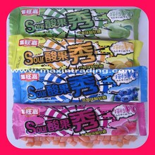 Assorted Fruit Flavors Sour Gummy Candy