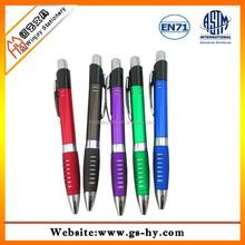 Fancy design plastic ballpoint pen brands