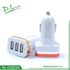 3 Port 3.1A USB Car Charger with LED 2.1a car charger 5v 1a car charger Display