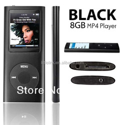 Cheap 8GB Fm Video 4th Gen MP3 MP4 Player