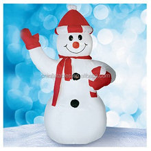 CITI TALENT Inflatable Snowman Outdoor Decor, 4-Feet