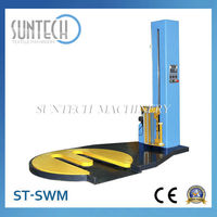 SUNTECH Stretch Film Wrapping Machinery for Sale,Stretch Wrapping Machine with Cling Film