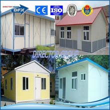 dfx brand painting or hot galvanized steel structure prefabricaed building and house