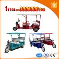 Prático e confortável elétrica adulto triciclo para venda