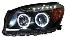 HOT SALE!! plug and play 12v car light Toyota RAV4 2009 head lights