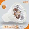 3 years warranty halogen shaped COB 6W dimmable led GU10 ce rohs gu10 led spotlight