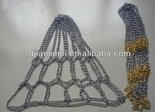 chain basketball ring net