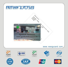 Hot selling ISO7816 OEM metal business card gold supplier in China