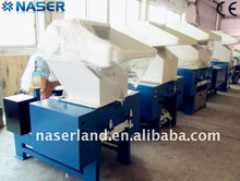 Waste plastic shredding and crushing machine