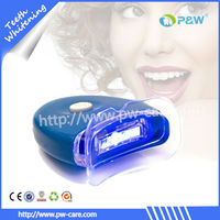 Teeth whitening mini blue LED light, home dental unit