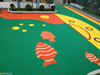EPDM Rubber Outdoor playground for kindergarten and school -G-I-150102