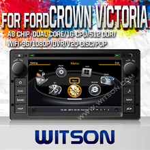 WITSON CAR DVD GPS FOR FORD CROWN VICTORIA 2008-2012 WITH 1.6GHZ FREQUENCY DVR SUPPORT RAM 8GB FLASH BLUETOOTH GPS WIFI
