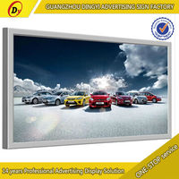 Outdoor indoor advertising ultra slim waterproof outdoor picture frame