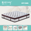 2015 sleepwell and hot sale double bonnell spring mattress KY1505