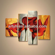 Popular modern decorative handmade acrylic painting culture