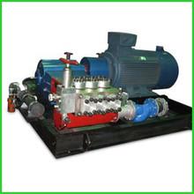 high pressure three pistons diesel tank cleaning pumps