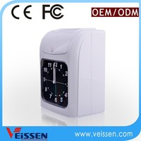 Easy setting electronice punch card time attendance recorder