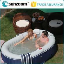 Sunzoom hot sale inflatable adult swimming bathtub spa pool