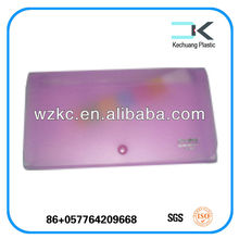 PP plastic expanding file, ticket or bill collection holder