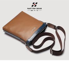 DB195 China wholesale leather massenger bag men hand bag luggage bag