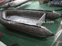 GTS360 Inflatable Camo Boat for sale