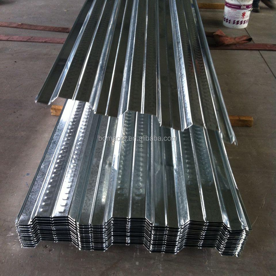 Populaire de plancher en acier platelage feuille ondul - Tole acier 5mm ...