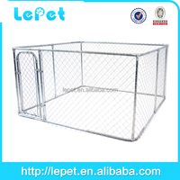 Wholesale dog kennel Outdoor Large Metal Stainless Steel Dog Kennels House
