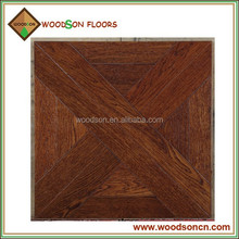 Classic White Oak Wood Parquet Flooring 450X450