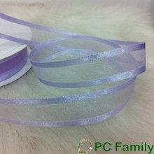 Lavender Satin Edge Nylon Organza Ribbon
