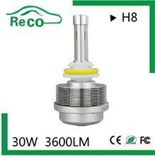 Head lamp 10 car accessories,12v 24v h8 car led headlamp