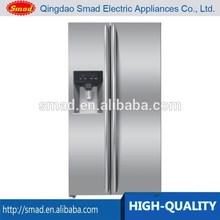 Gran capacidad de lado a lado no- las heladas frigorífico con waterdispenser y caja de hielo