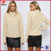 China wholesale clothing women knit sweater in Gream