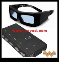 Cinematic 3D Active Glasses with High Speed LCD Shutter Technology