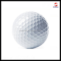 Wholesale cheap 2-piece practice blank new golf balls