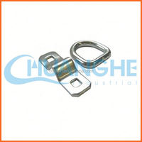 China supplier top grade stainless steel d ring snap hook