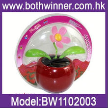 SQ139 flip flap solar apple flower