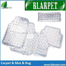 New style stylish current PVC aluminium car carpet mat