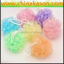 low price China bath gift set bath sponge with PVC tube wholesales