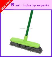 durable household plastic broom,plastic handle broom,push broom