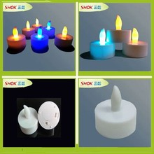 2014 Hot sale party decoration Muti-color LED candle ,tealight candle ,birthday candle