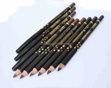 Menow P15008 cosmetic pencil for eyebrow with aluminium cap