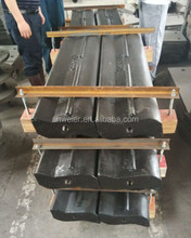 Mccloskey crusher spare parts blow bar jaw plate concave and mantle for europe ,usa market