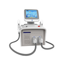 Portable IPL beauty equipment clinic use laser hair removal machine portable IPL SHR OPT power anti wrinkle machine home use