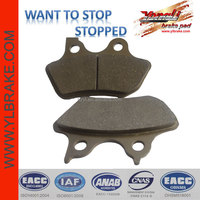 Factory in China Supply Top quality Motorcycle Brake pads for Harley davidson,copper base /sinter Motorcycle Brake Pad
