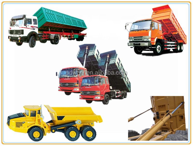 Hydraulic Dump Cylinders : Dump truck telescopic hydraulic cylinder buy