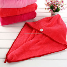 Gaoyang Factory Hot-sale Microfiber Bath Cap